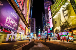 Theatre District, New York, New York