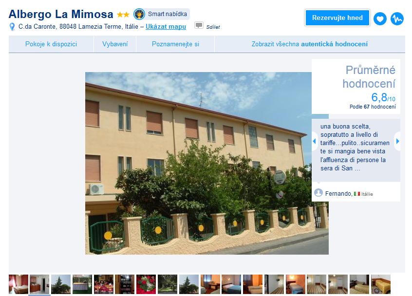 Albergo La Mimosa