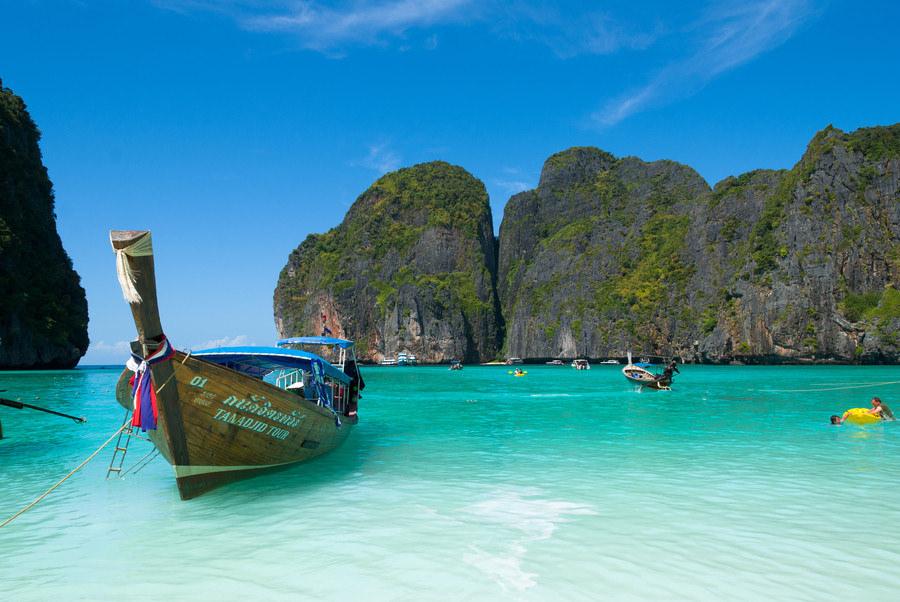 Pobřeží u Koh Lanta