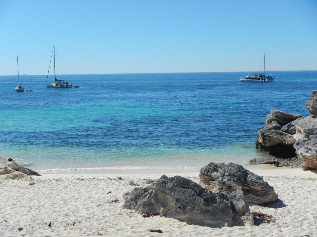 Pláž na ostrově Rottnest